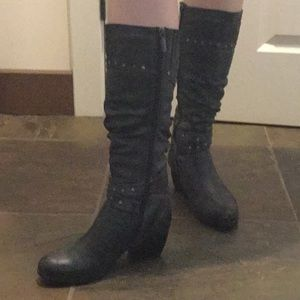 Blondo Knee High Boots Size 7W